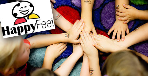 HappyFeet at Kidz Preschool In Las Vegas and Hendesron. Preschool and Child Day Care